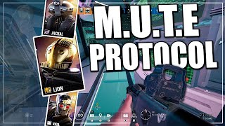First Time Playing M.U.T.E PROTOCOL Event In Rainbow Six Siege