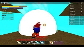 Roblox Dragon Ball z final stand GOING KAIOKEN (power level 90,000)