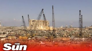 Live: View of Beirut port second day after massive blast in Lebanon
