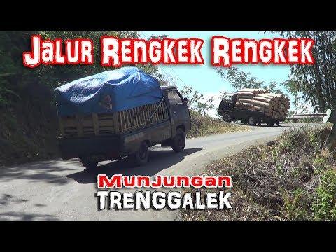 Jalur Rengkek Rengkek Munjungan Trenggalek Jawa Timur