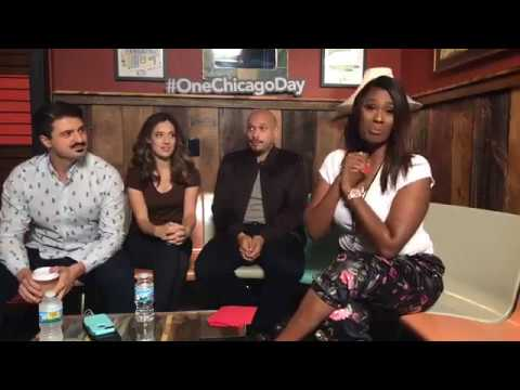 OneChicagoDay 2018 with Yuri Sardarov, Marina Squerciati and Joe Minoso