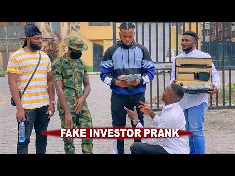 FAKE INVESTOR  - AFRICAN PRANK