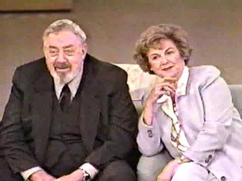Raymond Burr and Barbara Hale Tribute: Perry Mason (Vicki! 4-23-93)