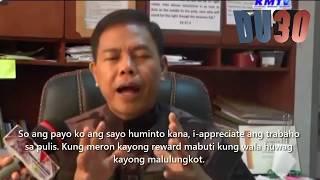 PCI ESPENIDO balak raw tambangan ng mga natitirang PAROJINOG, Ito ang sagot niya