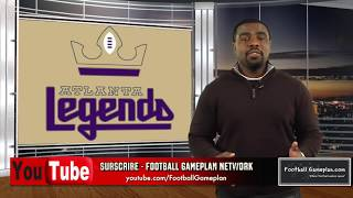 Football Gameplan's 2019 Alliance of American Football Preview: Atlanta Legends