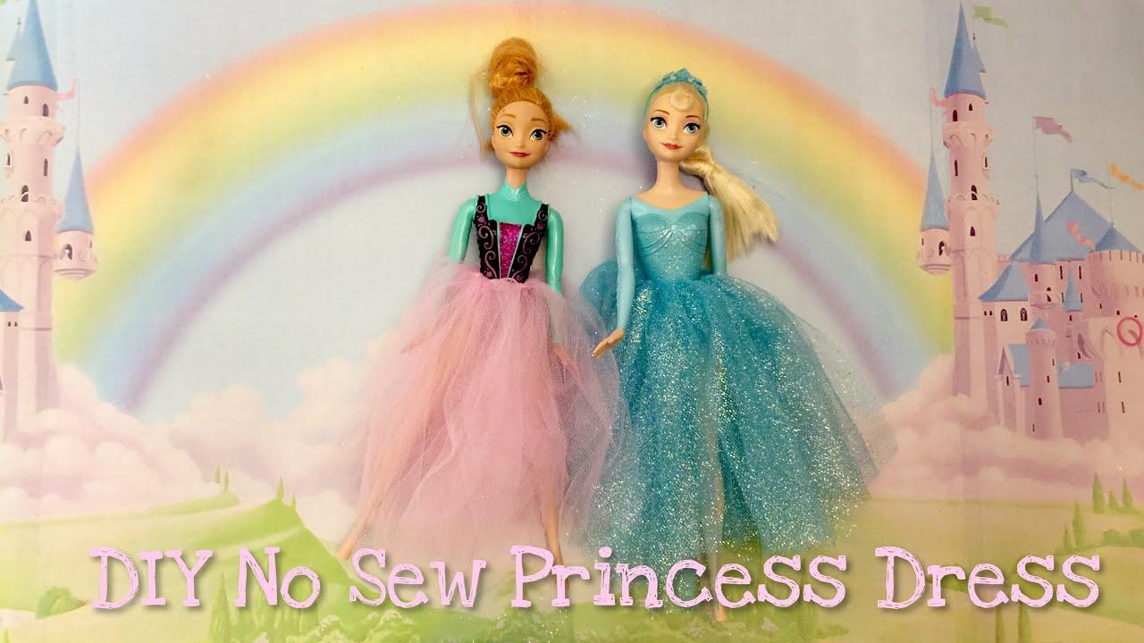 縫わない!バービー&リカちゃん人形の服の作り方!おもちゃ