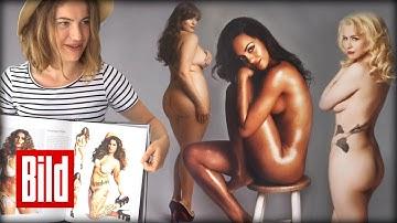 Erotik-Fotografie - Janashvili macht Bilder und Bücher über Frauen ( Nackte / Curves / XXL)
