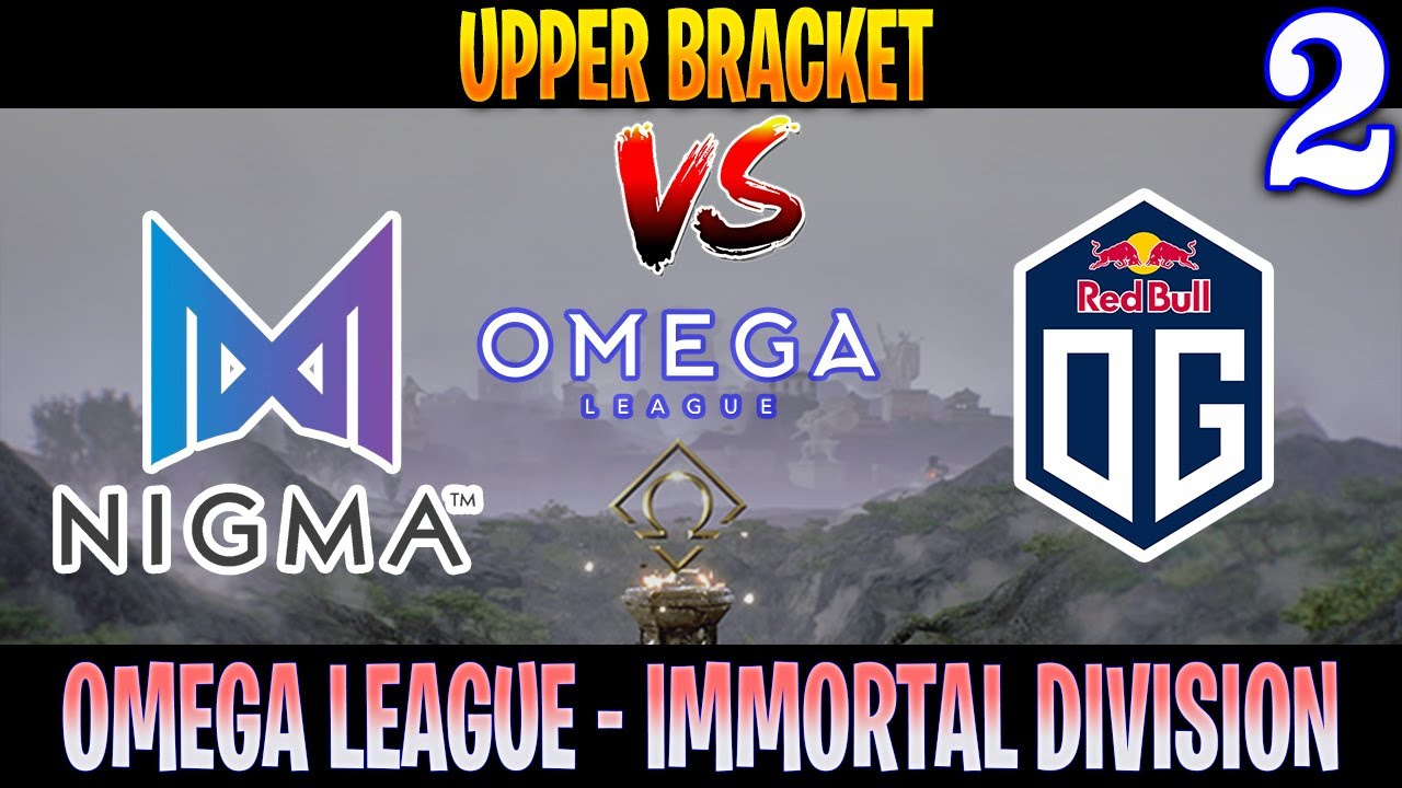 Nigma vs OG Game 2 | Bo3 | UpperBracket OMEGA League Immortal Division | DOTA 2 LIVE - YouTube