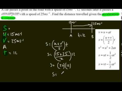 mechanics-1---m1---kinematics-of-a-particle-(1)-intro-constant-acceleration-equations-suvat
