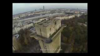 Flak Tower Flaktürme Wien Augarten Feuerleitturm