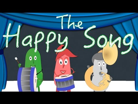 The Happy Song | Kids Songs | Fun Song | Green Bean's Music