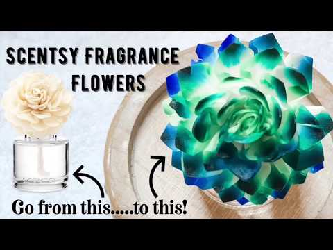 Scentsy Fragrance Flower Coloring Tutorial