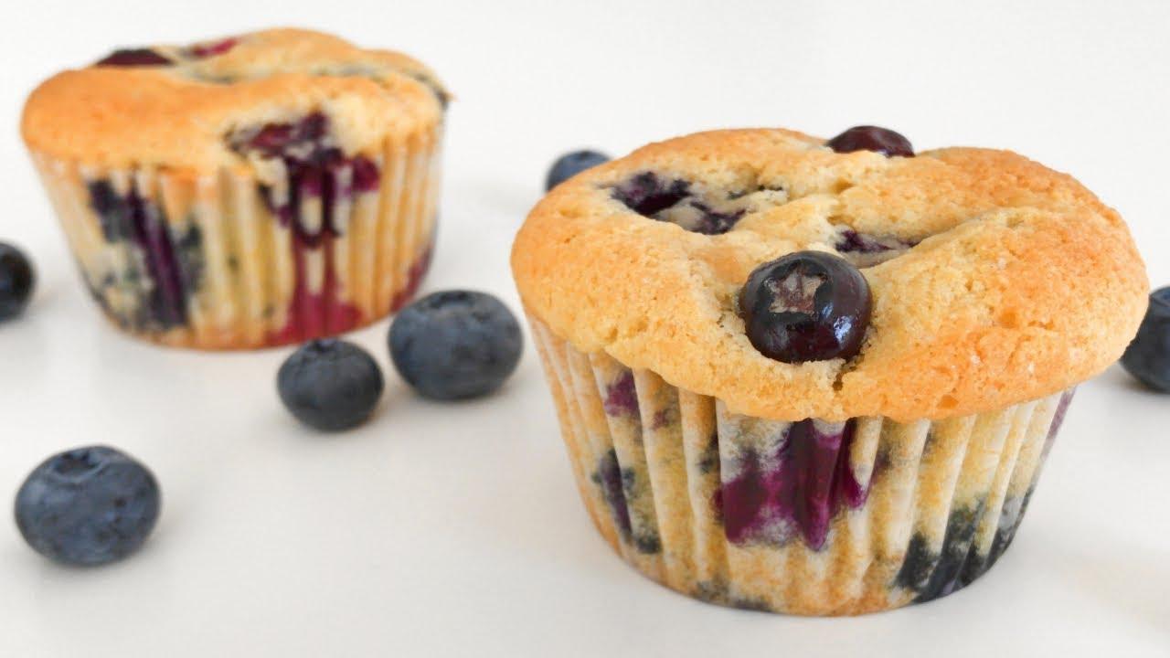 Moist Blueberry Muffins Resepi Muffin Blueberry