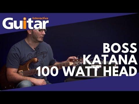 Boss Katana 100 Watt Amp Head Review