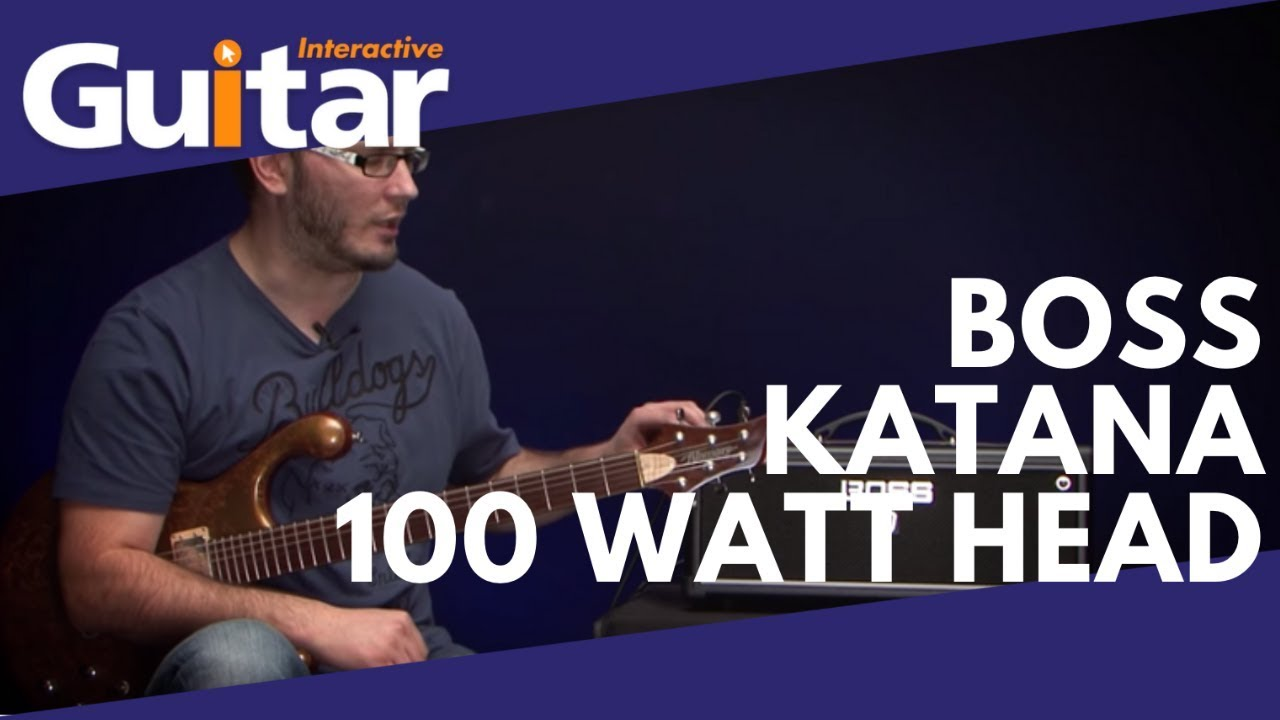 Boss Katana 100 Watt Amp Head Review Youtube Is It Ok To Put A Solid State Pedal Through Valve Geekchat