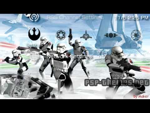 Assez PSP Theme Star Wars Symbols 1.0 PSP-Themes.NET - YouTube YB85