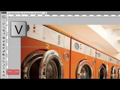 Photoshop Tutorial - How To Remove Ruler Guides [60 Seconds]