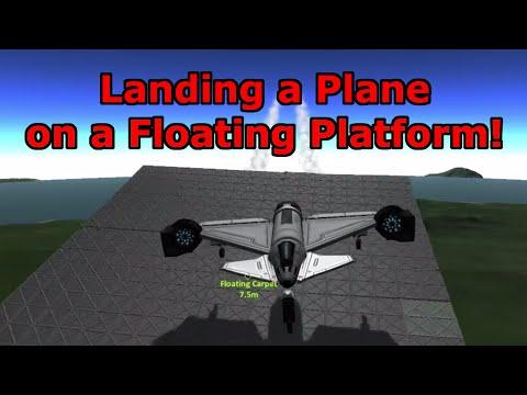 Landing on Floating Platforms in Stock KSP