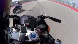 COTA: Stock BMW S1000RR vs. Factory GSXR1000 [3.1]