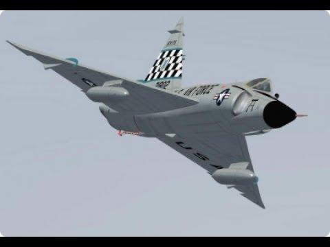 F-102 Delta Dagger F-106 Delta Dart 北米の防空を担ったデルタ翼要撃機 コンベア デルタ・ダガー デルタ・ダート (HD)
