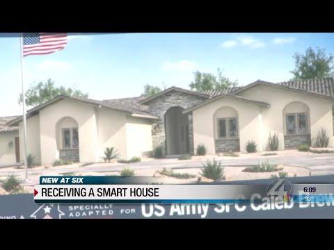 "Tucson veteran receives ""smart"" house"