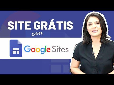 Como Criar um Site Grátis com Google Sites | Aula Prática Passo a Passo | Tutorial Google Sites