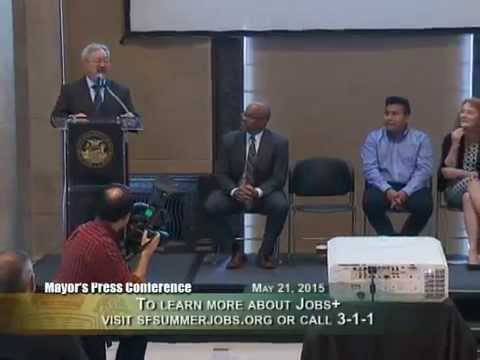 Mayor Lee Launches Youth Jobs + Initiative to Create Jobs for Youth
