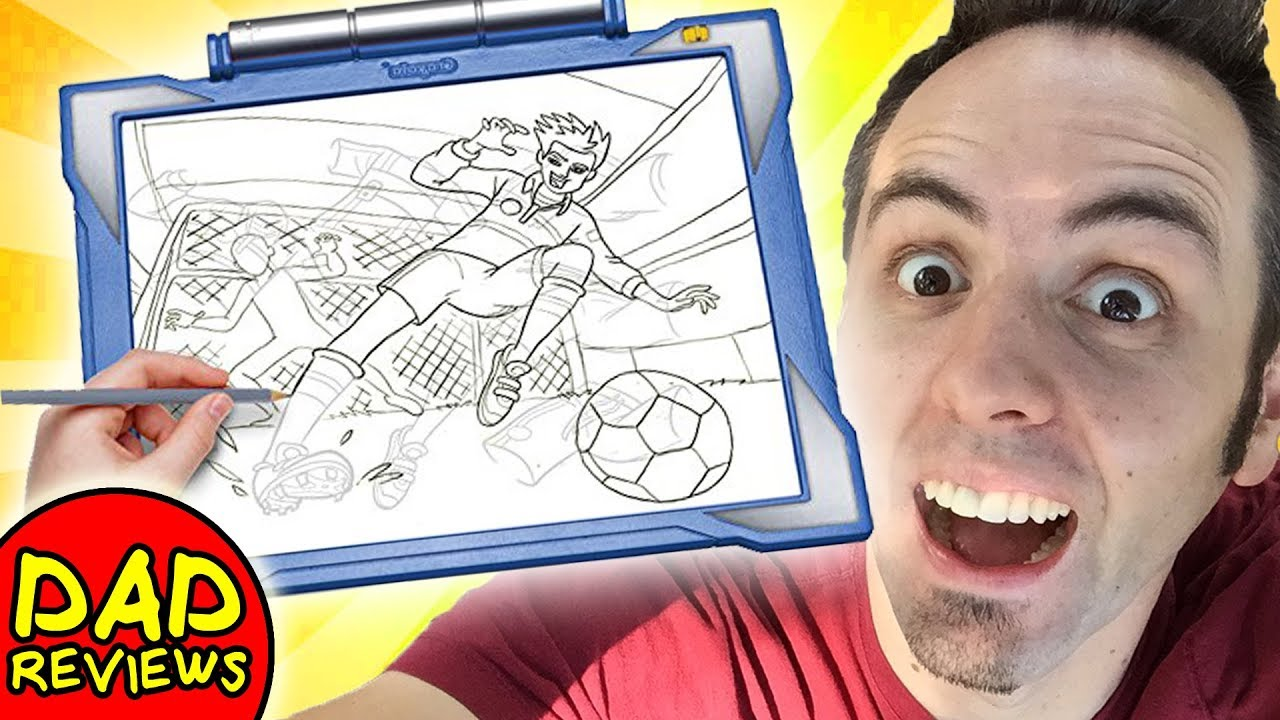 Best Tracing Light Pad Crayola Light Up Tracing Pad Review Youtube