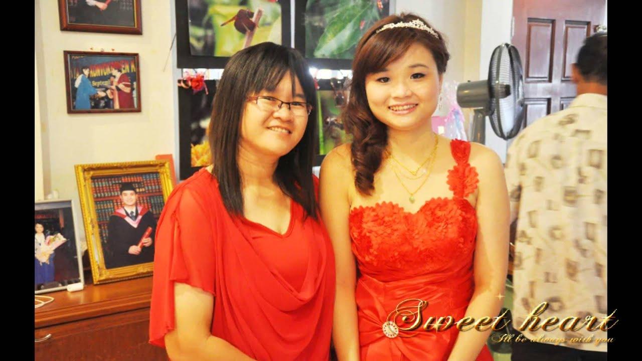 steiner and amy wedding photo gallery sibu youtube