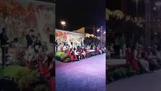 Ani moj Shqipni mos thuj mbarova - Festivali nga Sheshi Skenderbeu në Shkup per festen e Alfabetit
