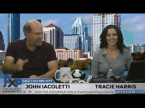 Atheist Experience 21.34 with Tracie Harris, John Iacoletti, & Clare Wuellner