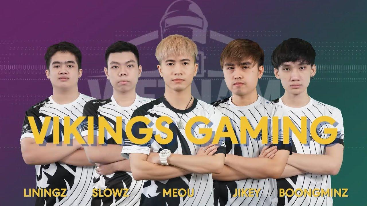 Team Intro Vikings Gaming   PUBG Vietnam Series