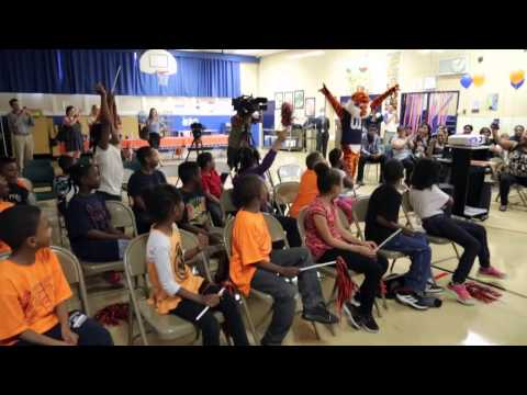 A Big Surprise for Students at Schmid Elementary School