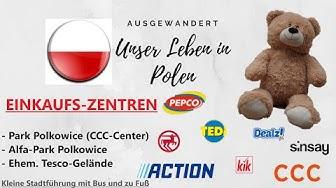 POLEN - Geschäfte & Zentren in Polkowice | Action✔TEDI✔Rossmann✔Sinsay✔Dealz!✔CCC✔PEPCO  |Auswandern