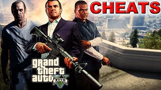 GTA V PC - OS CHEATS MAIS LOUCOS