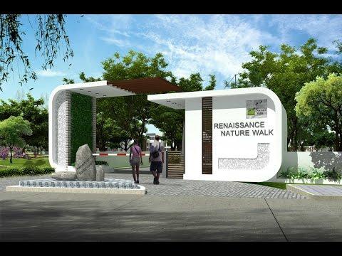 Luxury villas in Whitefield Bangalore | Walk Through Video - Renaissance Nature Walk