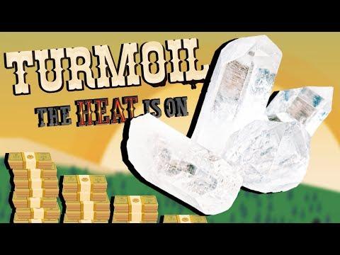 Finding Secret TREASURE and Rare Gemstones! - Turmoil The Heat is On Gameplay