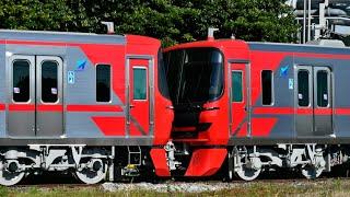 名鉄9500系(9503F、9504F)甲種輸送 名電築港到着
