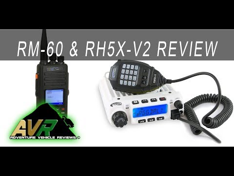 Rugged Radio Review - RM-60 and RH5X-V2