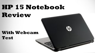 HP 15 Notebook Laptop Review