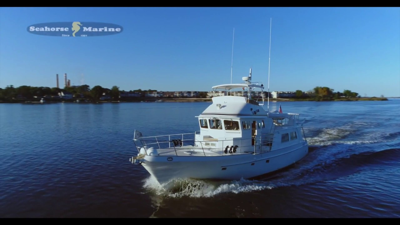 2003 Seahorse Pilothouse 52' LRC For Sale by United Yacht Sales