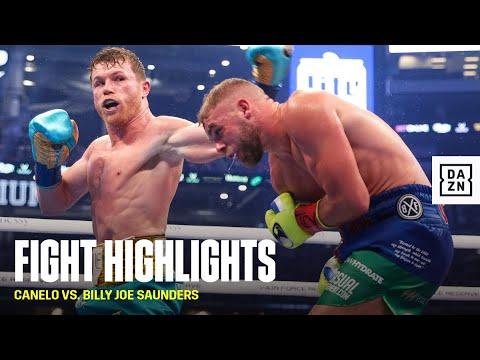HIGHLIGHTS | Canelo Alvarez vs. Billy Joe Saunders (Spoiler)