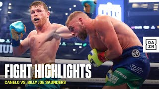 HIGHLIGHTS | Canelo Alvarez vs. Billy Joe Saunders