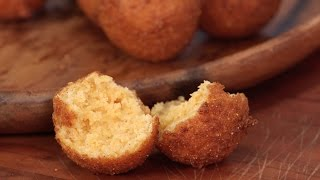 Hush-puppies with Green Goddess Dressing
