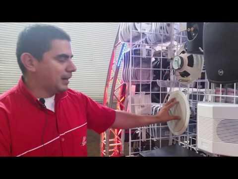 Sistema de 70 voltios para sonido ambiente - La Voz