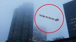 Weihnachtsmann auf Kamera aufgenommen!