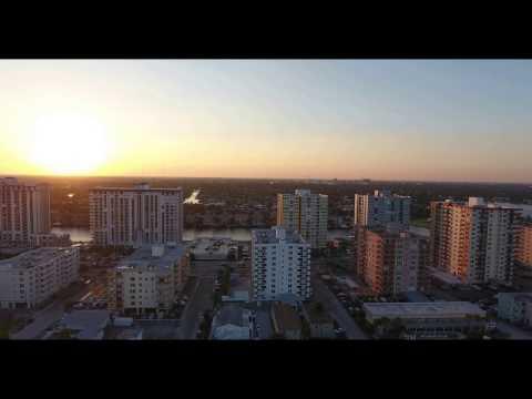 Fort Lauderdale drone flight