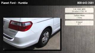 2005 Honda Odyssey EX with Leather/DVD Rear Entertainment System/Navi  - Houston