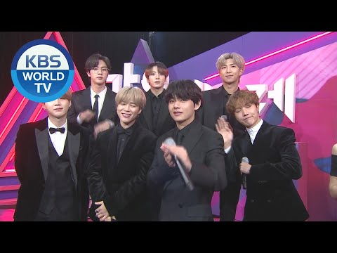 Interview with BTS [2019 KBS Song Festival / 2019.12.27]