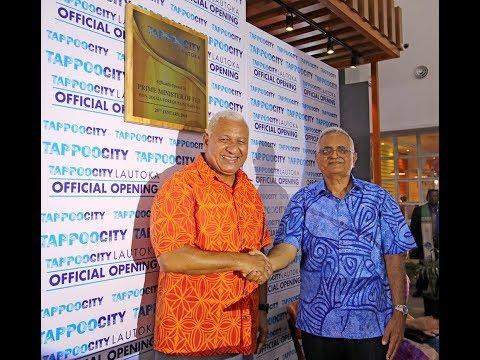 Fijian Prime Minister opens Tappoo City Lautoka